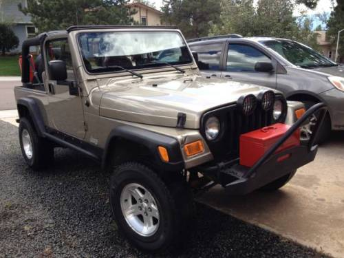 2005 Jeep Wrangler Unlimited Lj Auto For Sale In Colorado