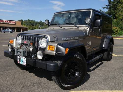 2006 Jeep Wrangler Unlimited LJ Rubicon For Sale in Eugene