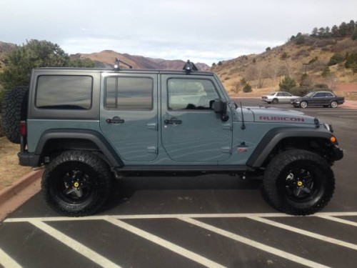 2013 jeep wrangler rubicon for sale in manitou springs co. Black Bedroom Furniture Sets. Home Design Ideas