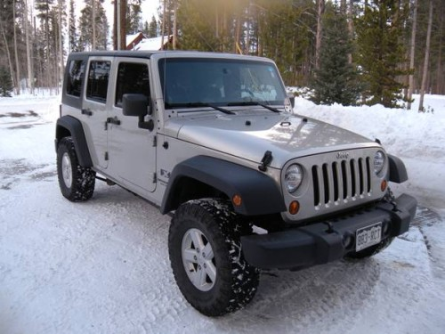 2007 jeep wrangler unlimited x for sale in breckenridge co. Black Bedroom Furniture Sets. Home Design Ideas