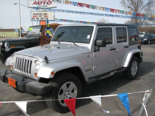 2007 Jeep Wrangler Unlimited Sahara For Sale In Boise Id