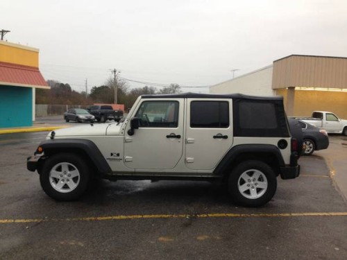 2007 jeep wrangler unlimited x for sale in rome ga. Black Bedroom Furniture Sets. Home Design Ideas