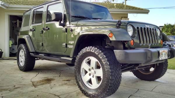 2007 jeep wrangler unlimited sahara for sale in honolulu hi. Black Bedroom Furniture Sets. Home Design Ideas