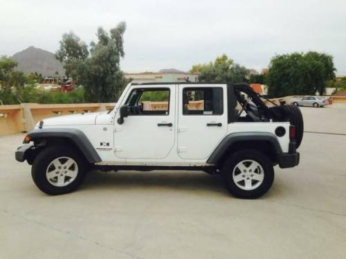 2007 jeep wrangler unlimited x for sale in scottsdale az. Black Bedroom Furniture Sets. Home Design Ideas