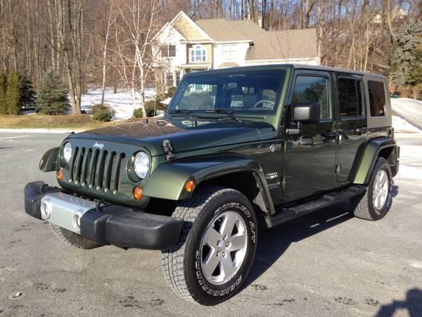 2008 jeep wrangler unlimited sahara for sale in lancaster pa. Black Bedroom Furniture Sets. Home Design Ideas