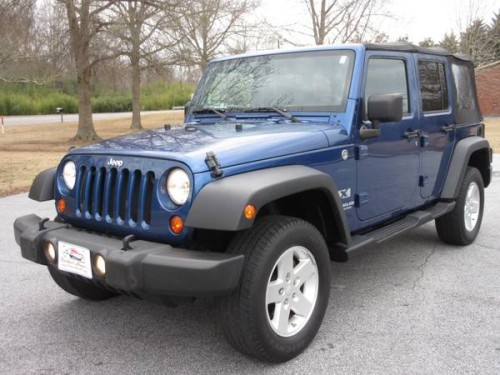 Jeep Wrangler For Sale In Sc >> 2009 Jeep Wrangler Unlimited X For Sale in Laurens SC