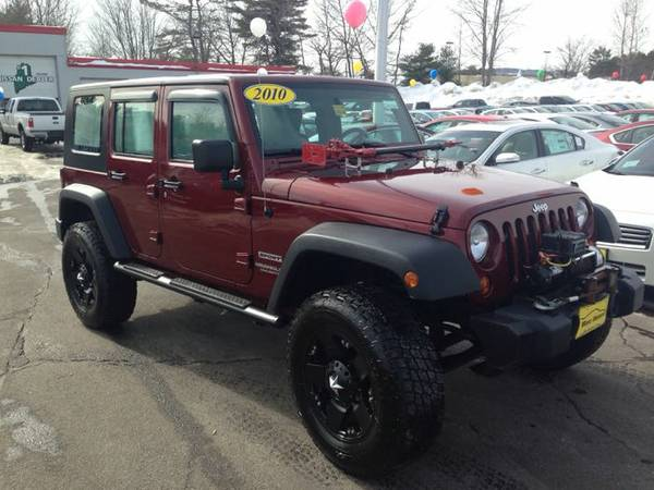2010 jeep wrangler unlimited sport for sale in sanford me. Cars Review. Best American Auto & Cars Review