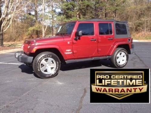 2012 jeep wrangler unlimited sahara for sale in commerce ga. Black Bedroom Furniture Sets. Home Design Ideas