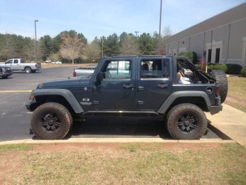 2008 jeep wrangler unlimited x for sale in lagrange ga. Black Bedroom Furniture Sets. Home Design Ideas