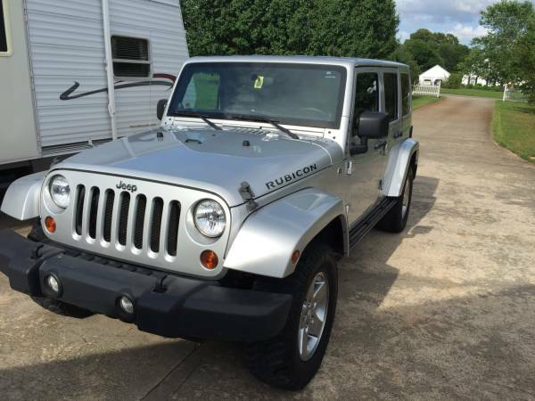 2012 jeep wrangler unlimited rubicon for sale in florence alabama. Black Bedroom Furniture Sets. Home Design Ideas