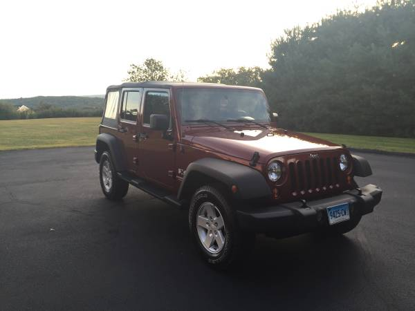 jeep wrangler unlimited for sale in connecticut. Black Bedroom Furniture Sets. Home Design Ideas