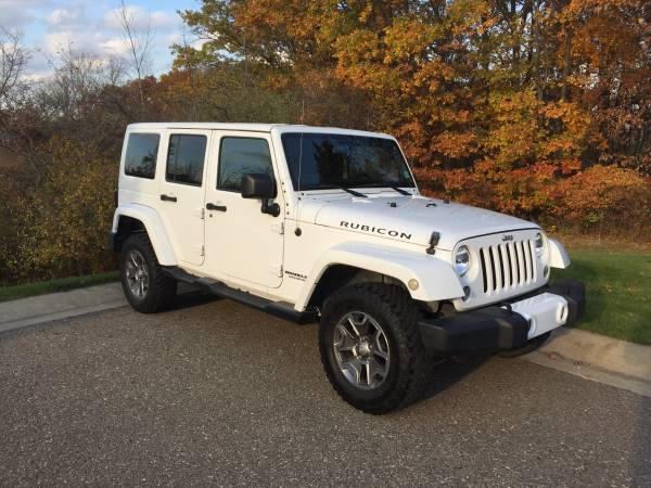 2014 jeep wrangler unlimited rubicon for sale in rochester. Black Bedroom Furniture Sets. Home Design Ideas