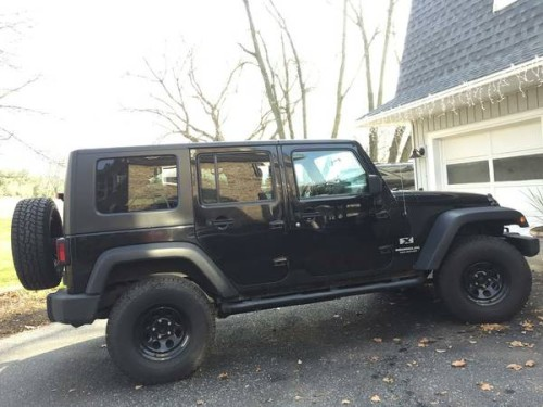 2007 jeep wrangler unlimited x for sale in bernville pennsylvania. Black Bedroom Furniture Sets. Home Design Ideas