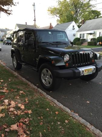 2011 jeep wrangler unlimited sahara for sale in roselle park new jersey. Black Bedroom Furniture Sets. Home Design Ideas