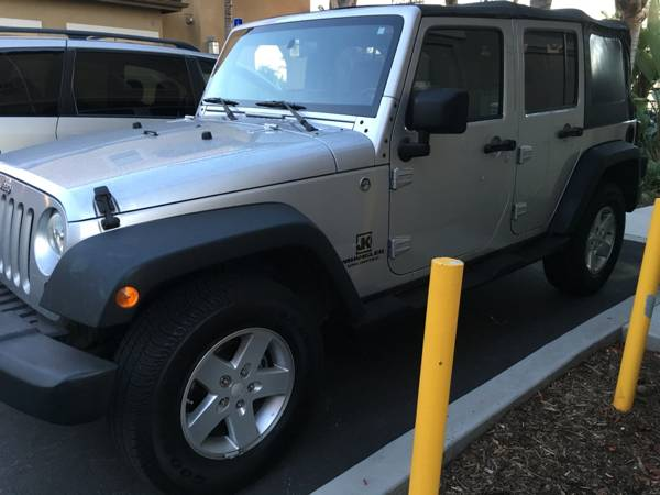 2008 jeep wrangler unlimited x for sale in san diego california. Black Bedroom Furniture Sets. Home Design Ideas