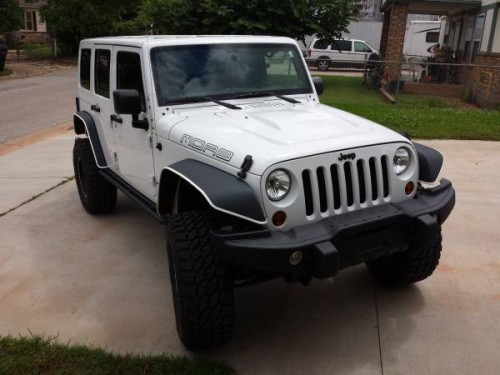 2013 jeep wrangler unlimited moab edition for sale in oklahoma city. Black Bedroom Furniture Sets. Home Design Ideas