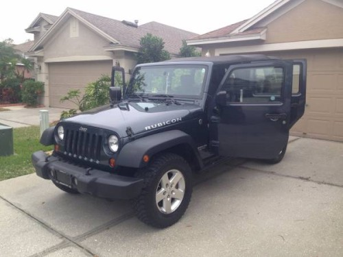 2008 jeep wrangler unlimited rubicon for sale in tampa florida. Black Bedroom Furniture Sets. Home Design Ideas