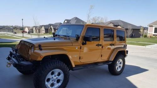 2014 jeep wrangler unlimited sahara for sale in lincoln missouri. Black Bedroom Furniture Sets. Home Design Ideas