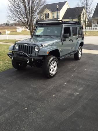2014 jeep wrangler unlimited sahara for sale in toledo ohio. Black Bedroom Furniture Sets. Home Design Ideas