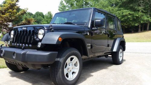2015 jeep wrangler unlimited sport for sale in gainesville georgia. Black Bedroom Furniture Sets. Home Design Ideas