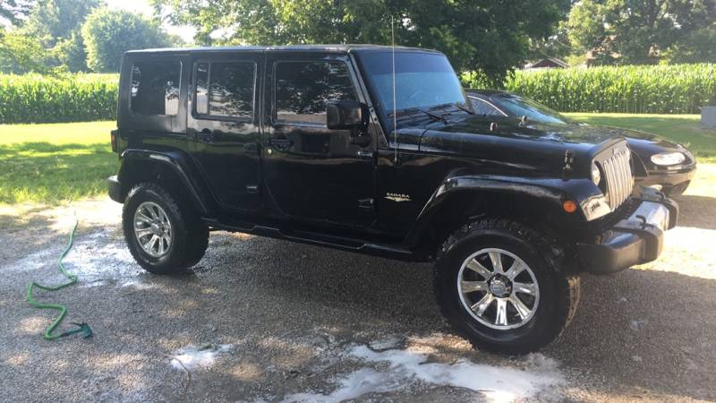 2008 jeep wrangler unlimited sahara for sale in evansville indiana. Cars Review. Best American Auto & Cars Review