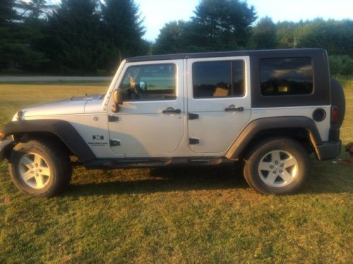 2008 jeep wrangler unlimited x for sale in jay maine. Black Bedroom Furniture Sets. Home Design Ideas
