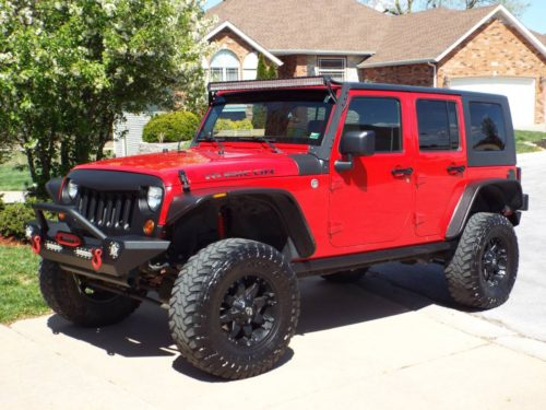 2009 jeep wrangler unlimited rubicon for sale in springfield missouri. Black Bedroom Furniture Sets. Home Design Ideas