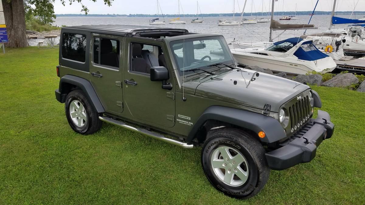 2015 jeep wrangler unlimited sport for sale in upstate. Black Bedroom Furniture Sets. Home Design Ideas