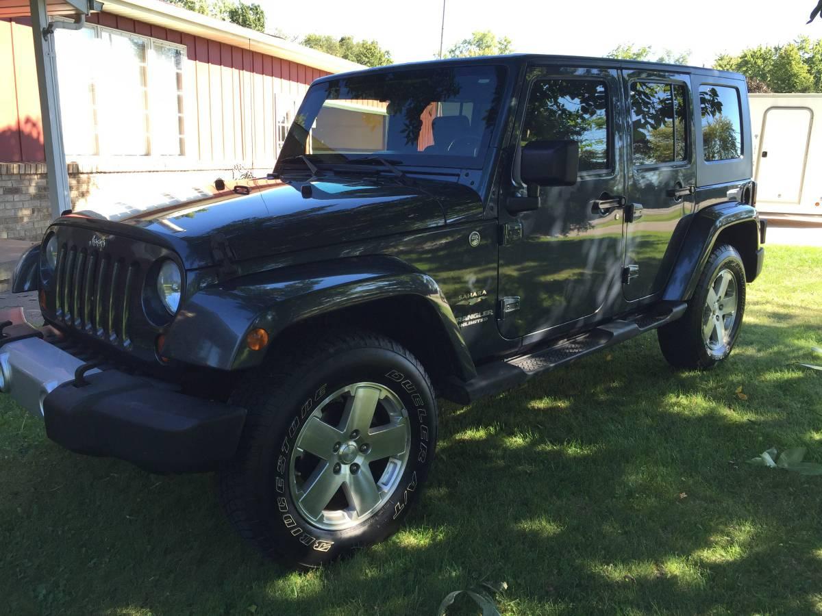 2008 jeep wrangler unlimited sahara for sale in vassar michigan. Black Bedroom Furniture Sets. Home Design Ideas