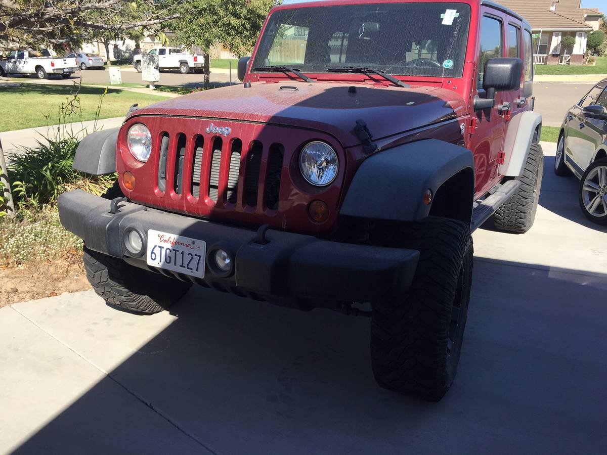 2012 Jeep Wrangler Unlimited Sport For Sale in Santa Maria